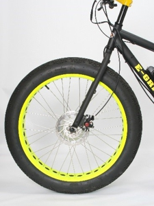 E Grizzly Front Wheel Drive Electric Fat E Bike Front Wheel