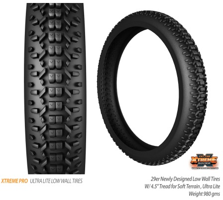 Xtreme Tire Pro Ultra Light Low Wall Tires